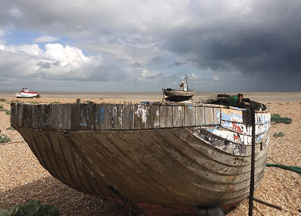 Storm brewing over Dungeness