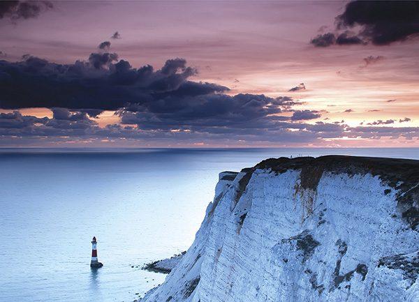 Sunset over Beachy Head Lighthouse